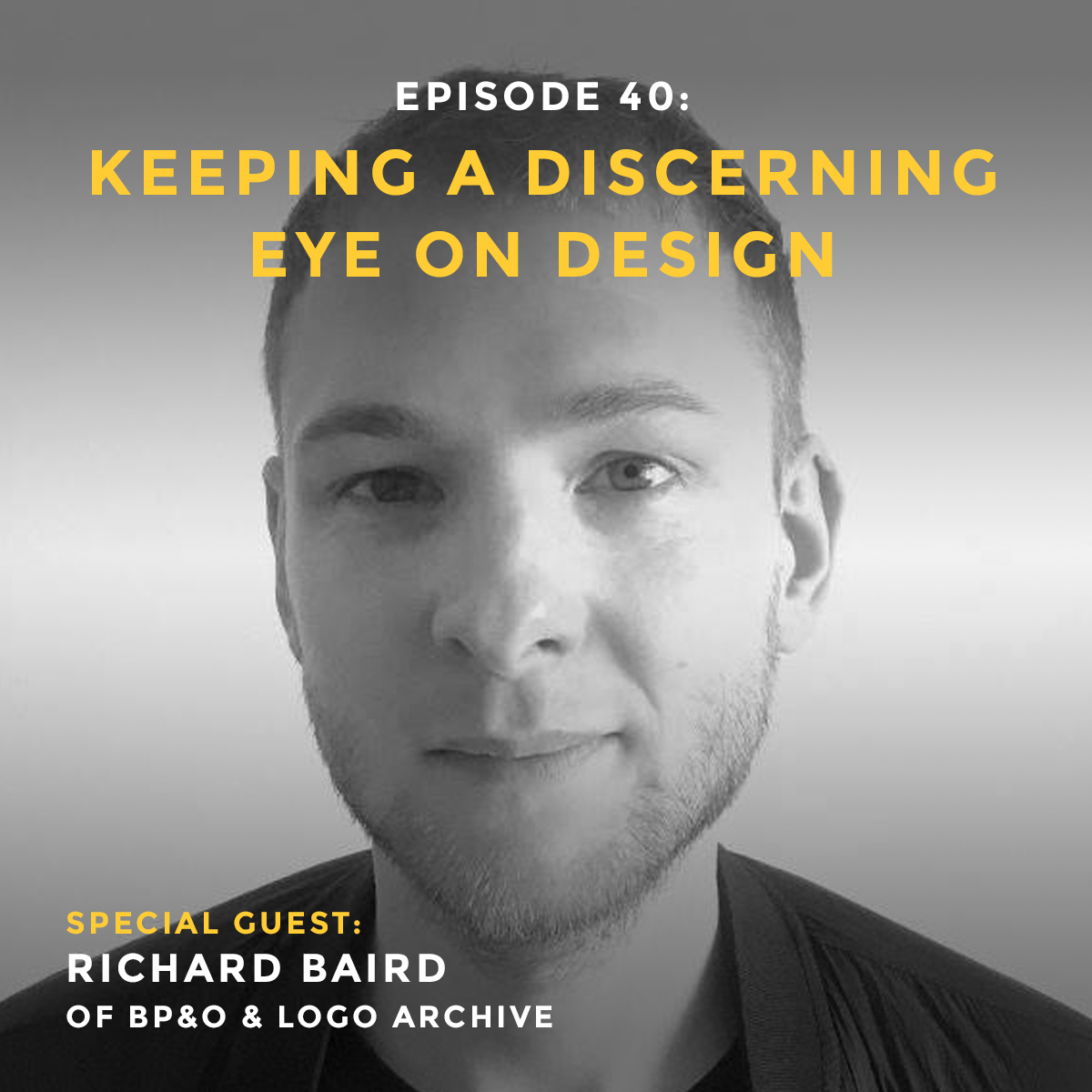Design podcast interview with Richard Baird of Branding, Packaging & Opinion design blog