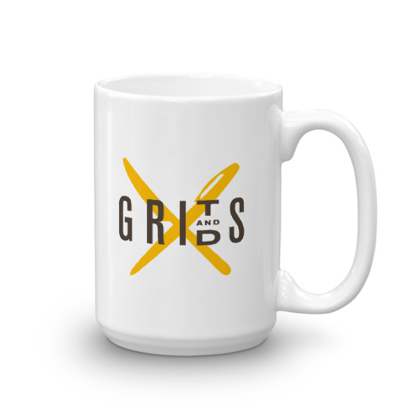 Grits X Grids motivational designer creative coffee mug