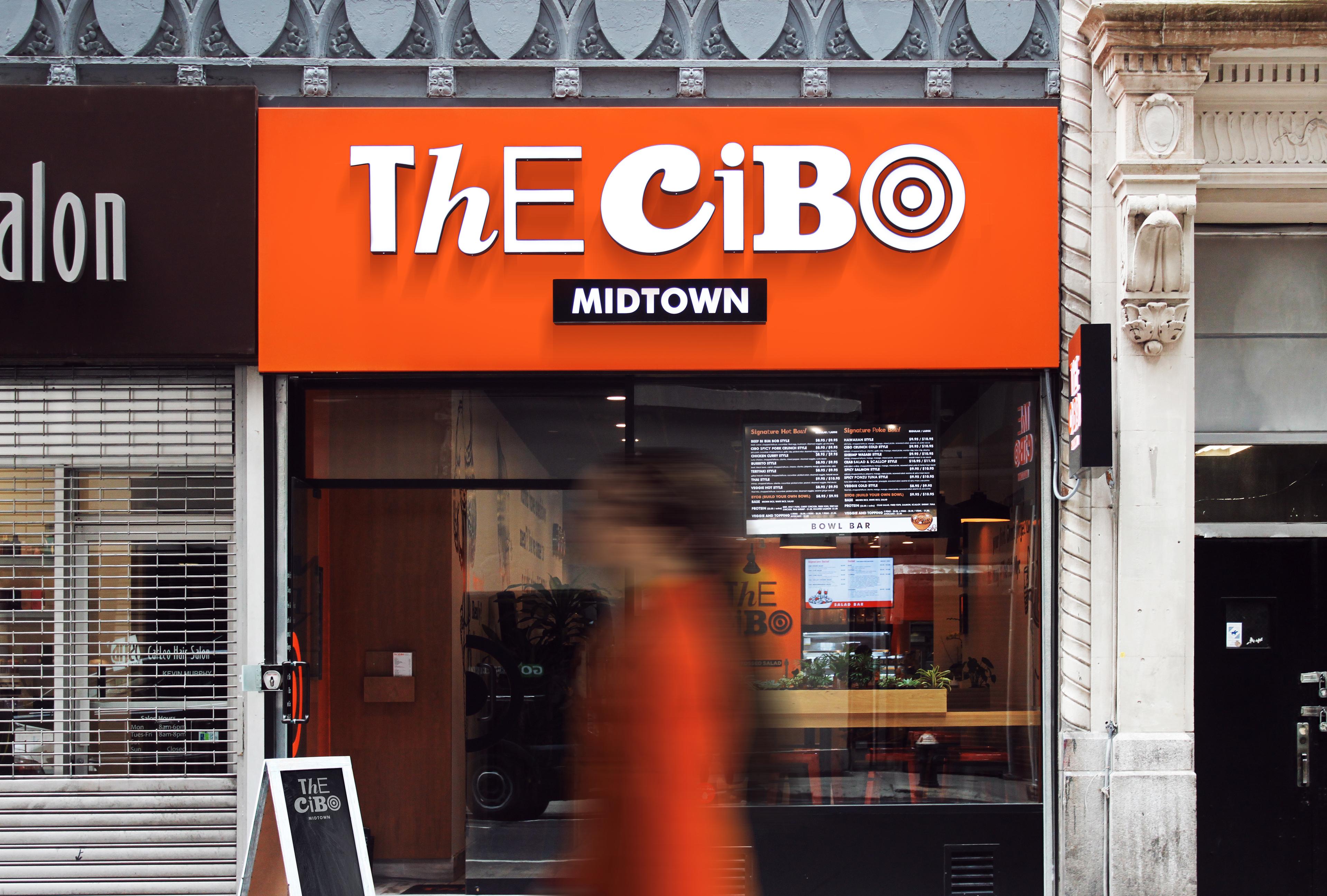 The Cibo fast casual burger restaurant branding by Brandon Archibald in Ukraine