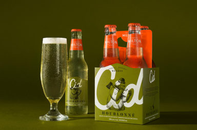 Milton Cidrerie rebranding and package design by LG2 Boutique in Quebec Canada