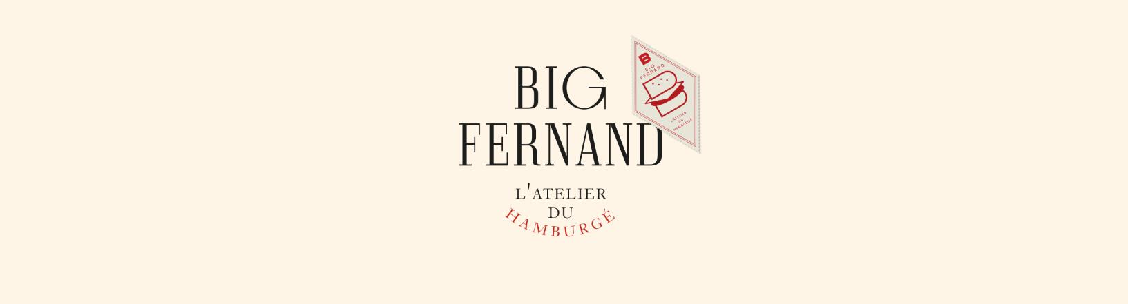 Big Fernand Restaurant Branding by Violaine & Jérémy
