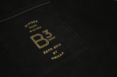 B3 Burger Beer Bistro restaurant branding by Darling Communications in Singapore