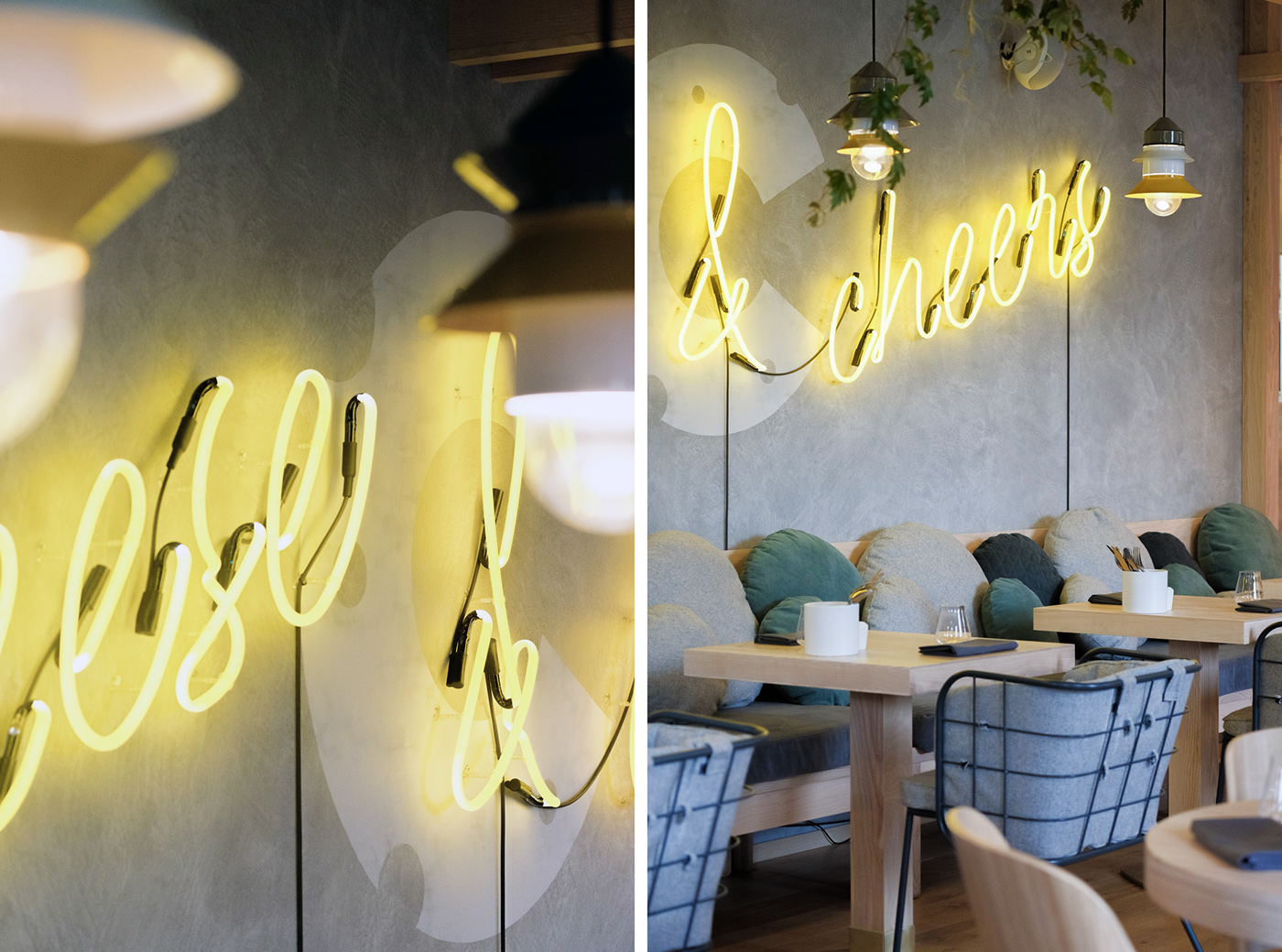 SYRNIK Cheese Restaurant Interior - Grits + Grids