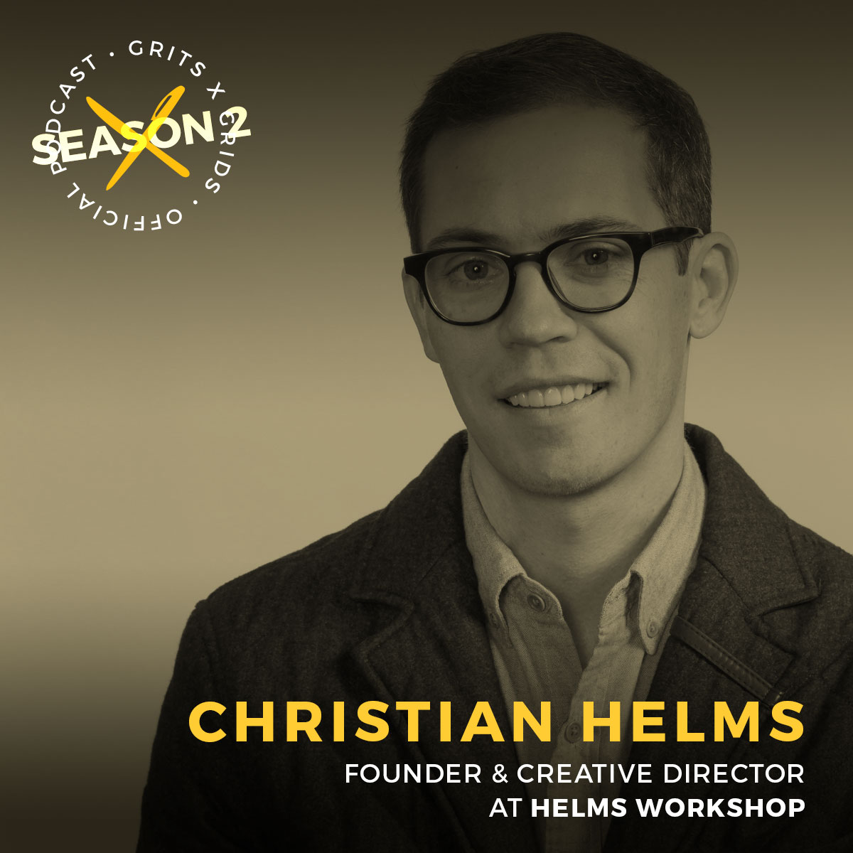 Podcast interview with creative director and founder of Helms Workshop in Austin Texas, Christian Helms