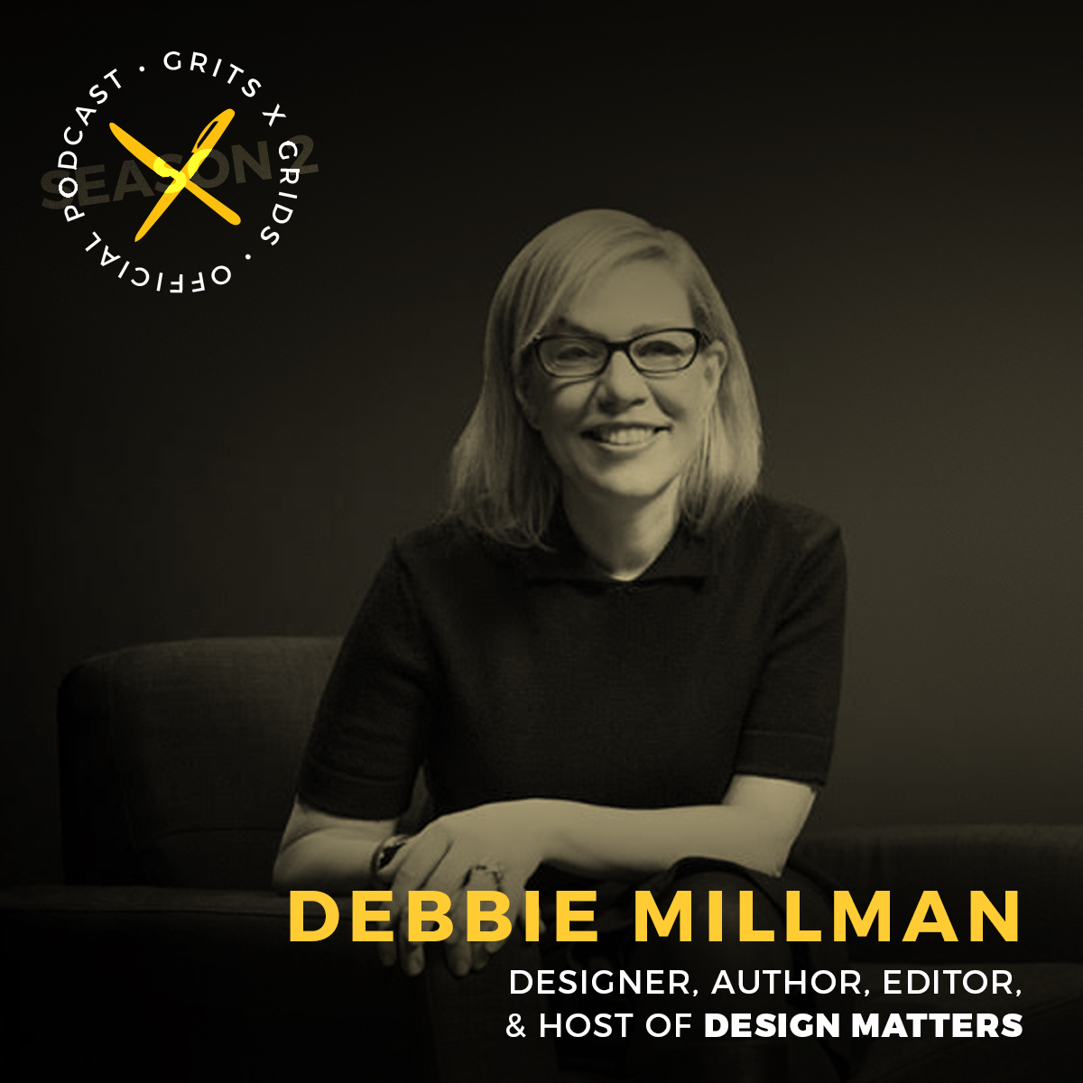 Podcast interview with Debbie Millman of Design Matters, Print Magazine, and more