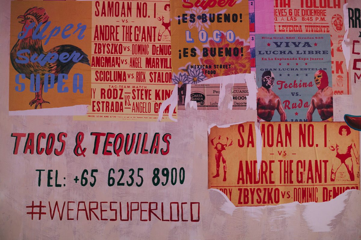 Super Loco Mexican Restaurant Branding Grits Grids