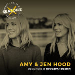 Podcast interview with Jen and Amy Hood of Hoodzpah Design and Odds and Sods