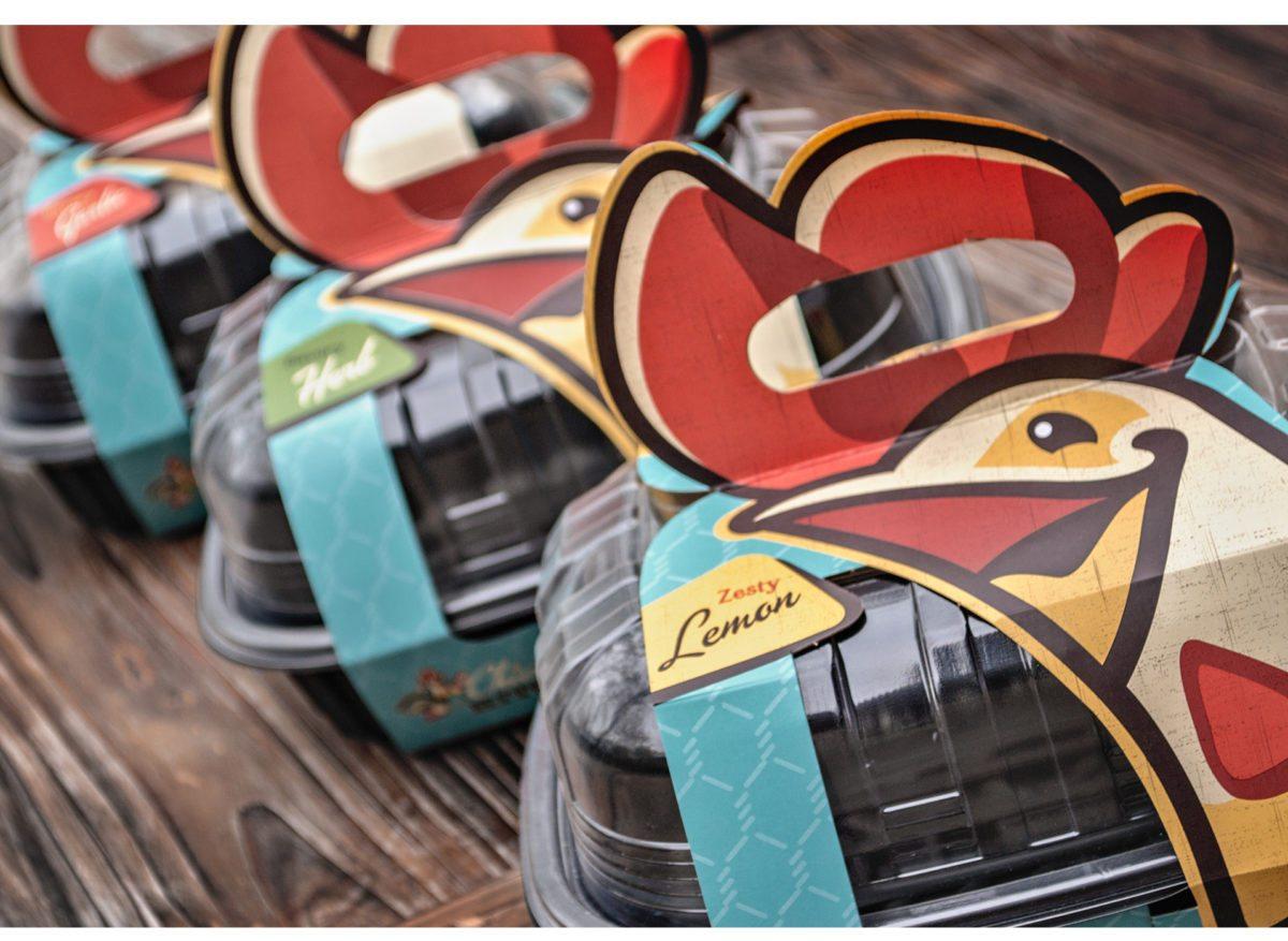 Chicken Kitchen Branding U0026 Packaging By Wildfire Ideas