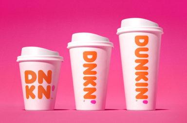 Dunkin' Donuts rebranding brand evolution design