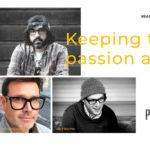 Grits & Grids podcast episode 1 of season 3 - Simon Manchipp, Jay Fletcher, and Matthew Dawson talk about Passion