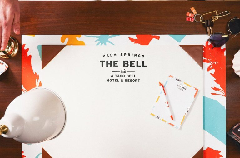 Taco Bell's popup hotel in Palm Springs, The Bell