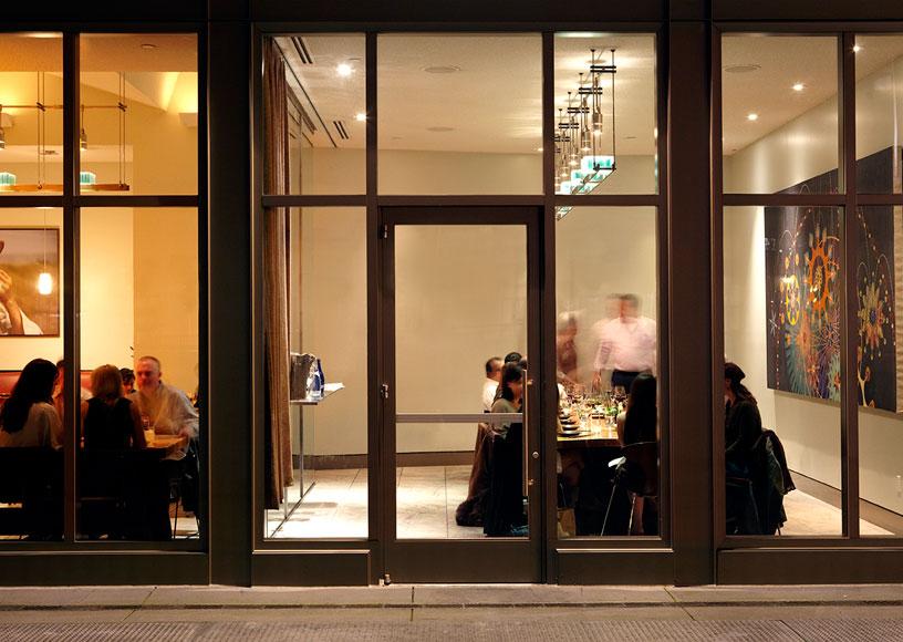 The Slanted Door Restaurant Branding Grits Grids