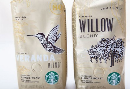 New Designs For Starbucks Coffee Bags Grits Grids