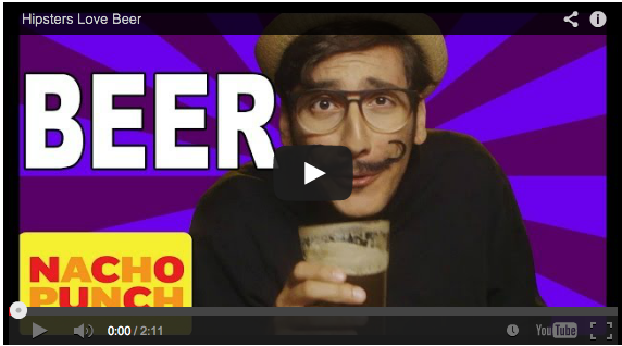 Hipsters and Craft Beer parody