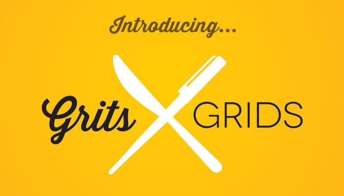 Introducting new restaurant branding blog, Grits & Grids