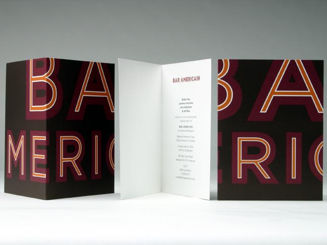 bar americain branding grits grids. Black Bedroom Furniture Sets. Home Design Ideas