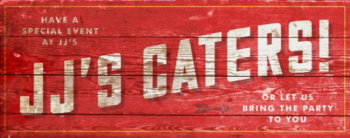 JJ cater banner