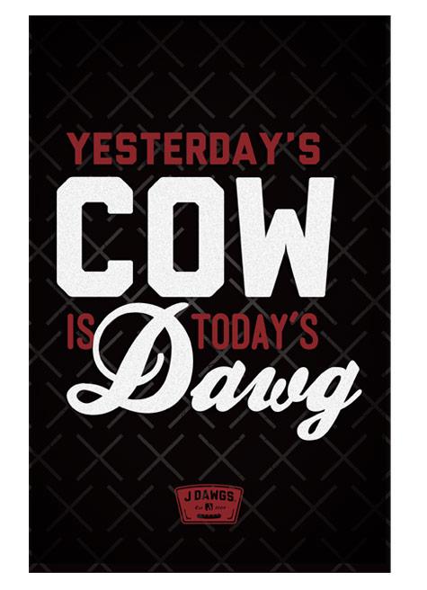 J Dawgs restaurant rebranding by Super Top Secret creative