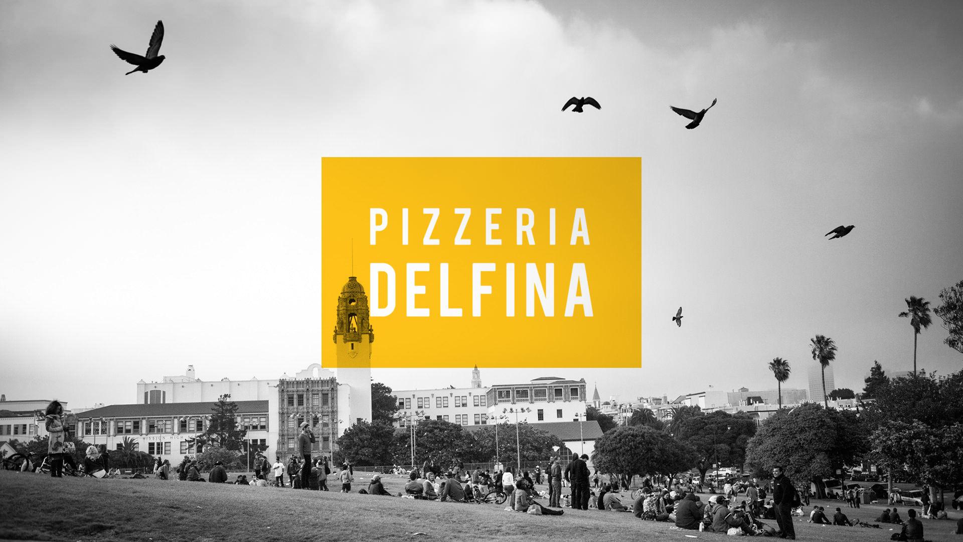 Pizzeria Delfina branding by Character San Fransisco