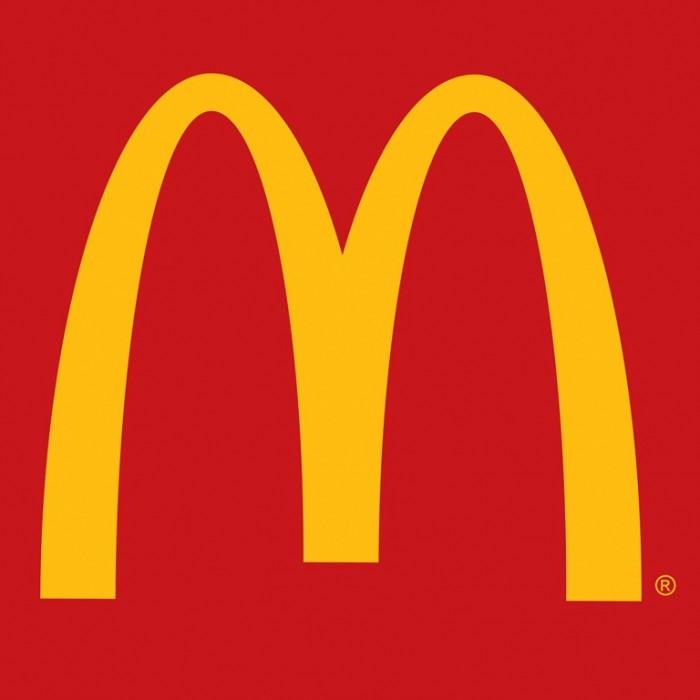 McDonald's restaurant logo design