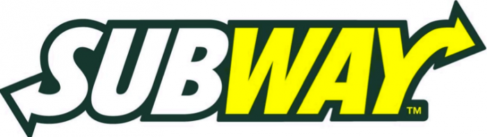 Subway restaurant logo design