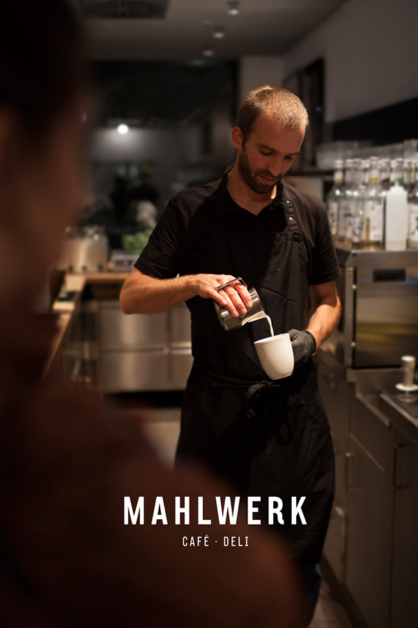 Mahlwerk cafe and deli branding by playground