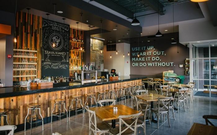 Jack & June restaurant and bar design - Grits + Grids