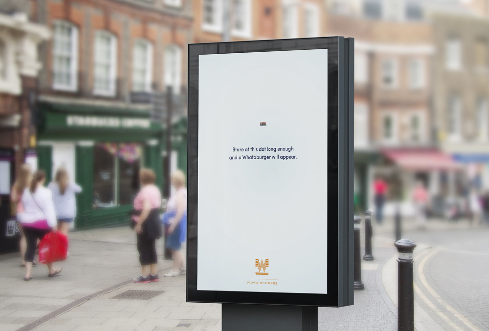 Whataburger restaurant marketing advertising by students from Creative Circus