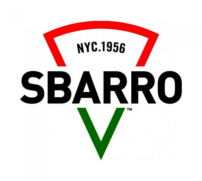 Sbarro new logo rebranding design