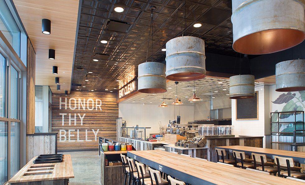 Honor Society restaurant interior design by Rowland Broughton Architects in Denver, Colorado