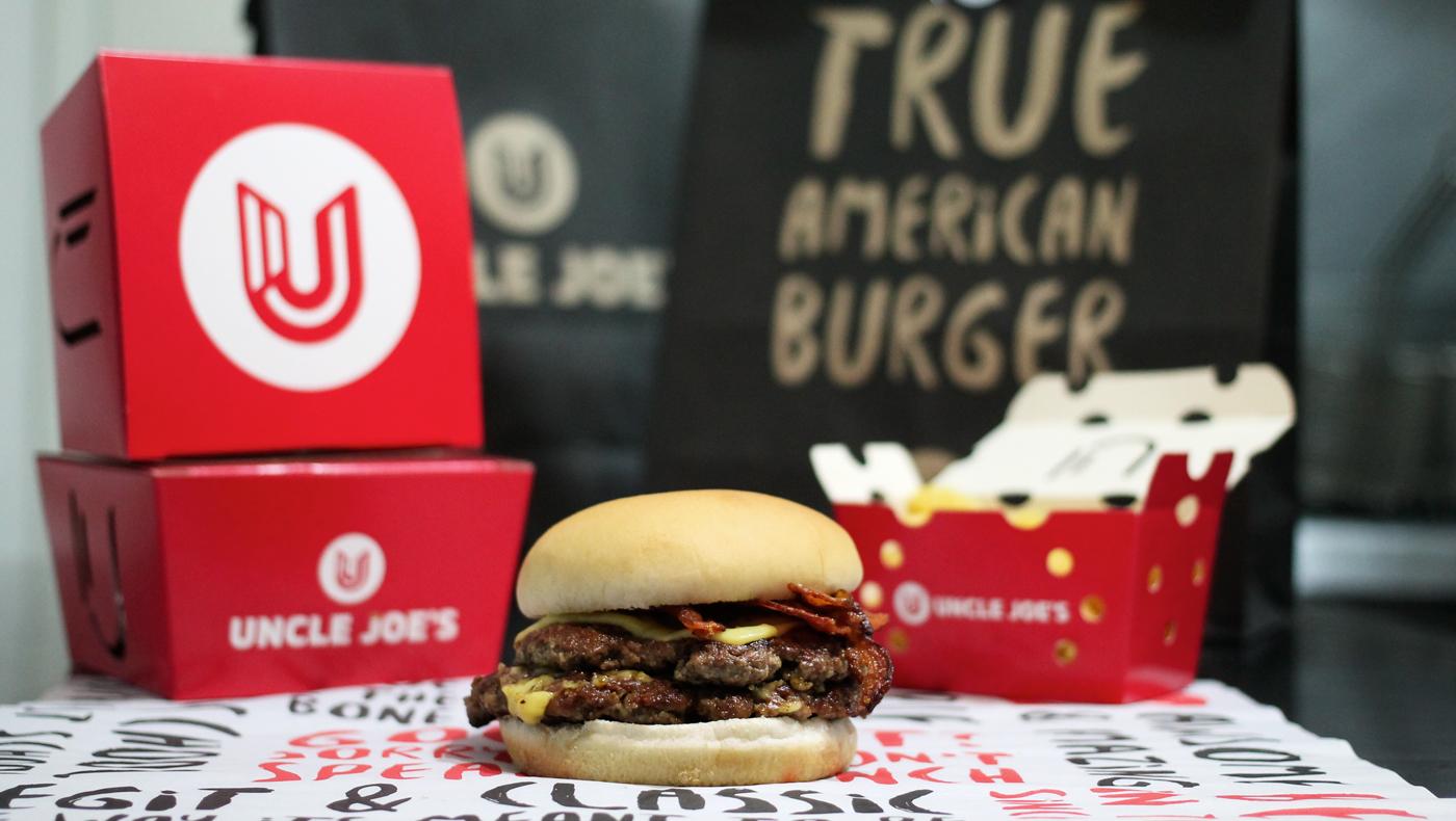 Uncle Joe's better burger fast casual restaurant branding by Bradda in Florianapolis Brasil