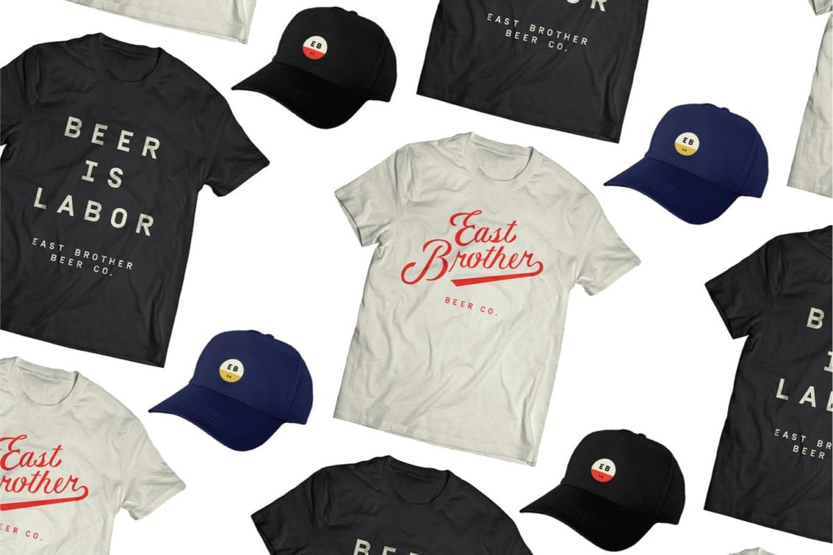 East Brother Beer Co Branding by Good Beer Hunting - Grits & Grids®