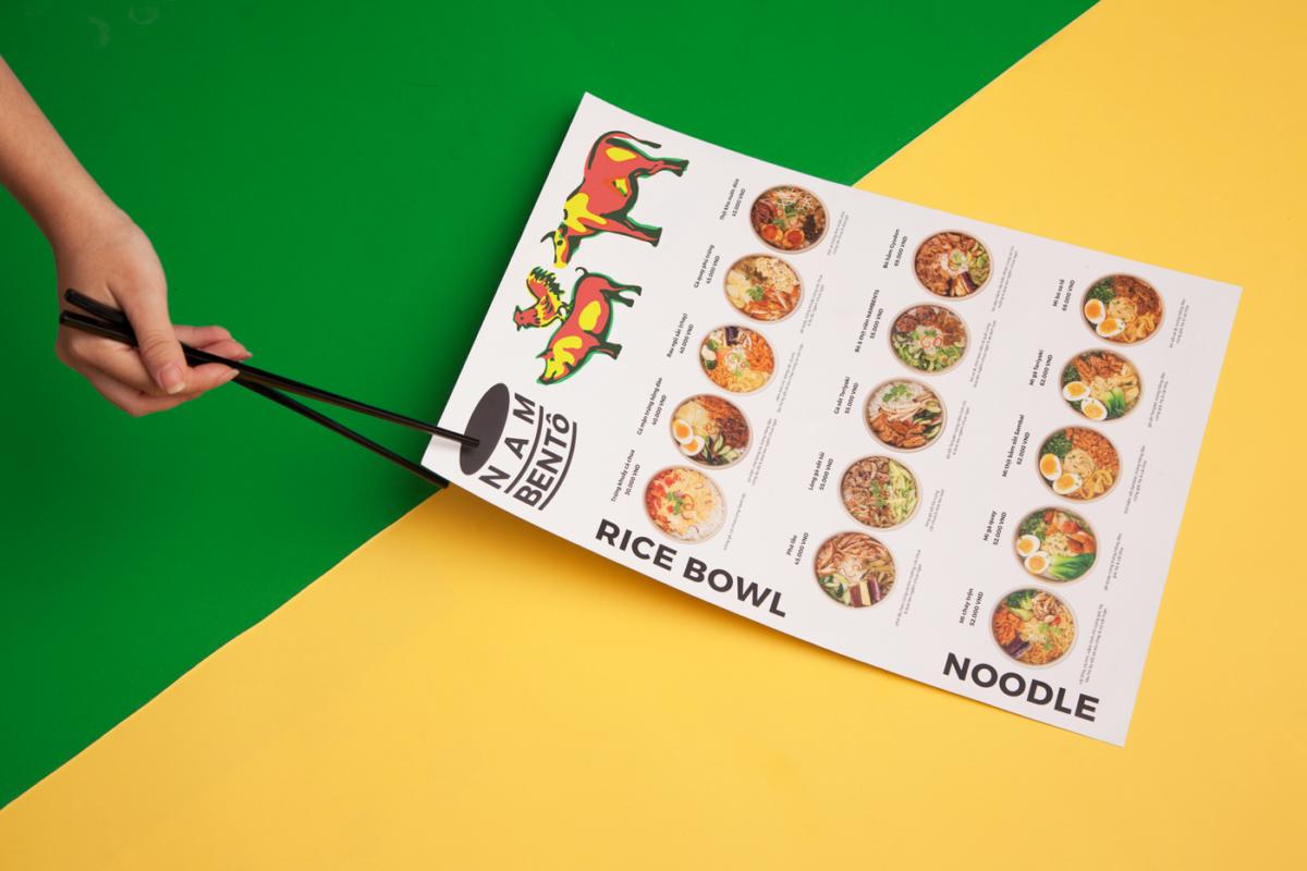 Nambento Vietnamese Restaurant Branding Visual Identity By The Lab Saigon Grits Grids
