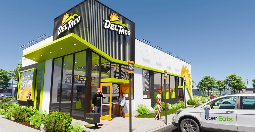 Del Taco concept design and prototype - front view tight shot