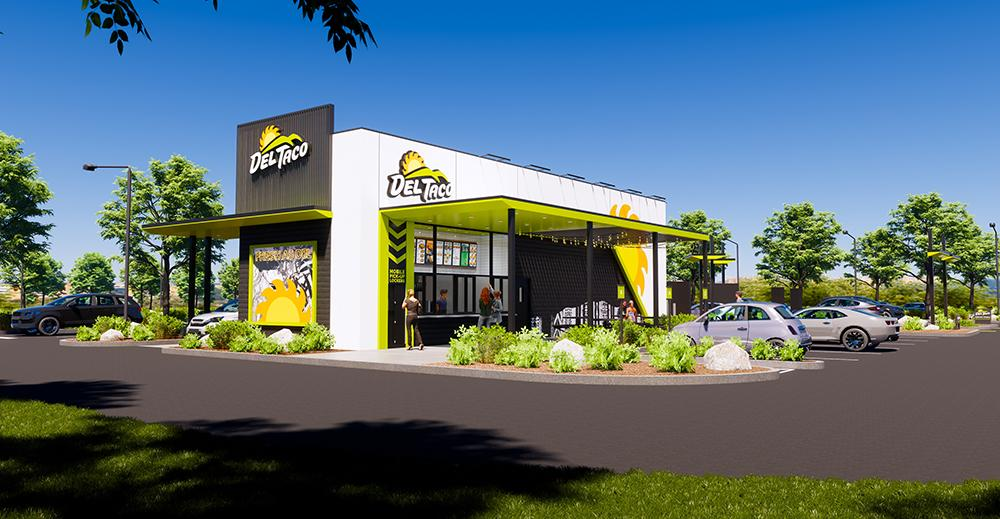 Del Taco concept design and prototype - front view day
