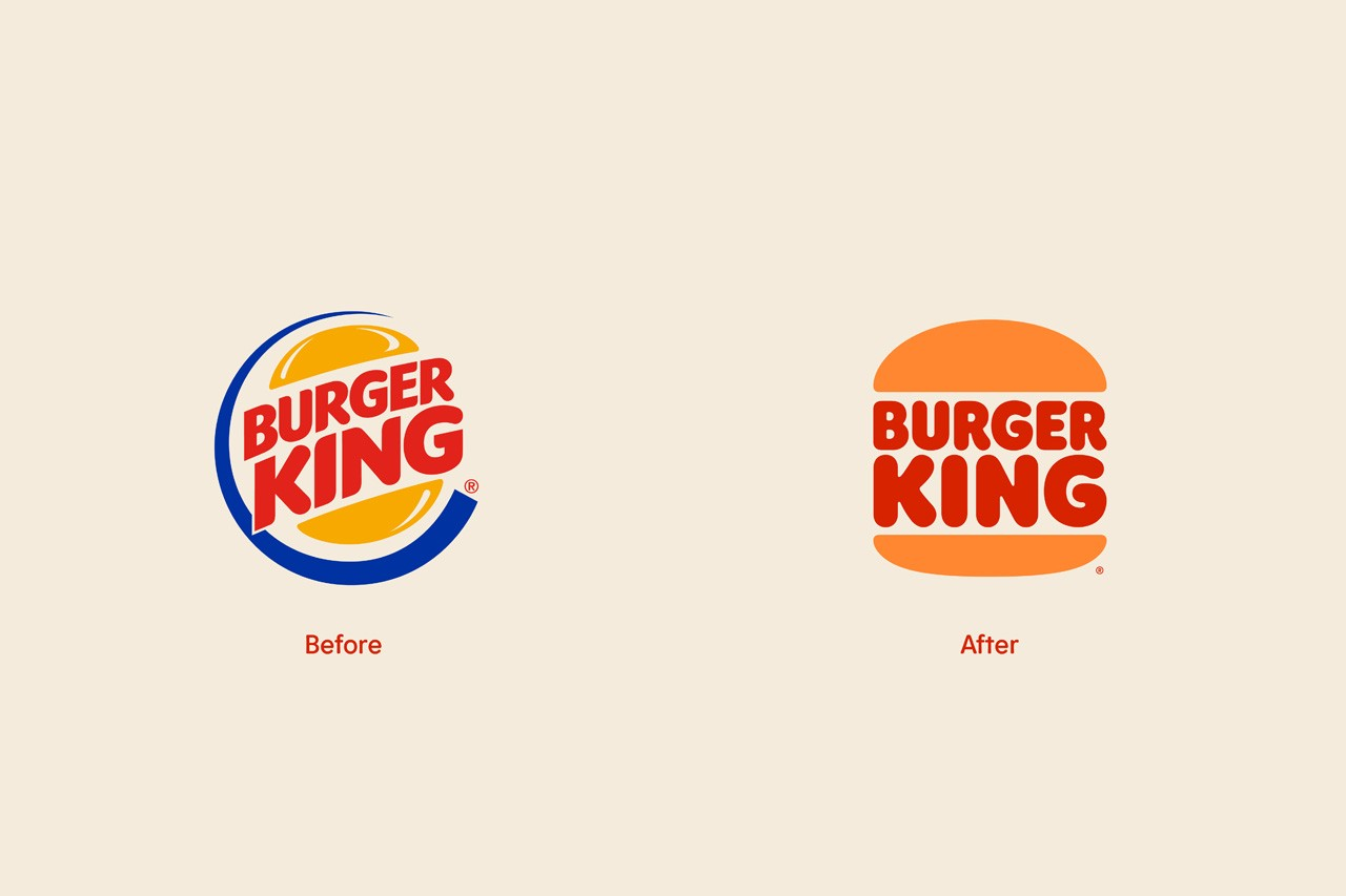 Burger King rebranding logo shift