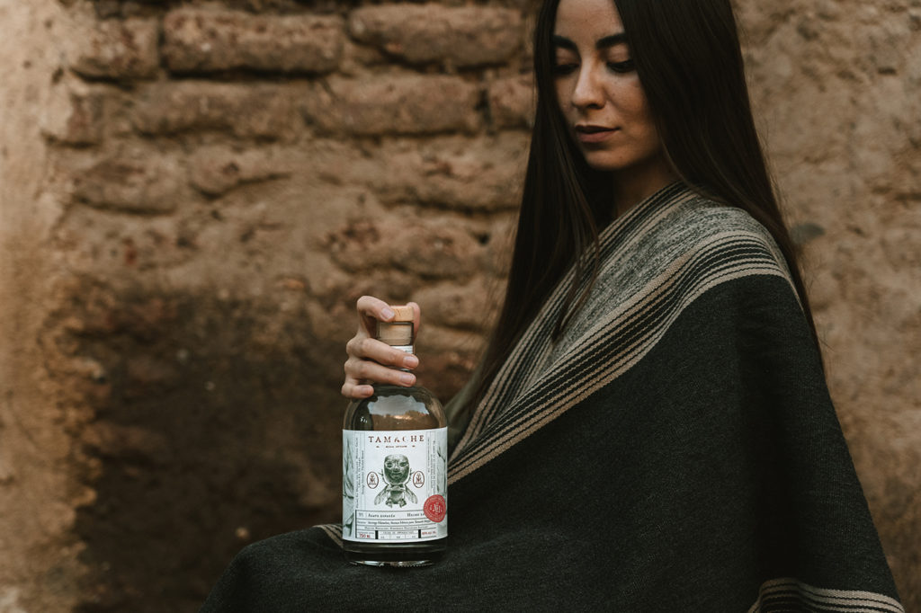 Tamache Mezcal branding and packaging design by Monotypo Studio