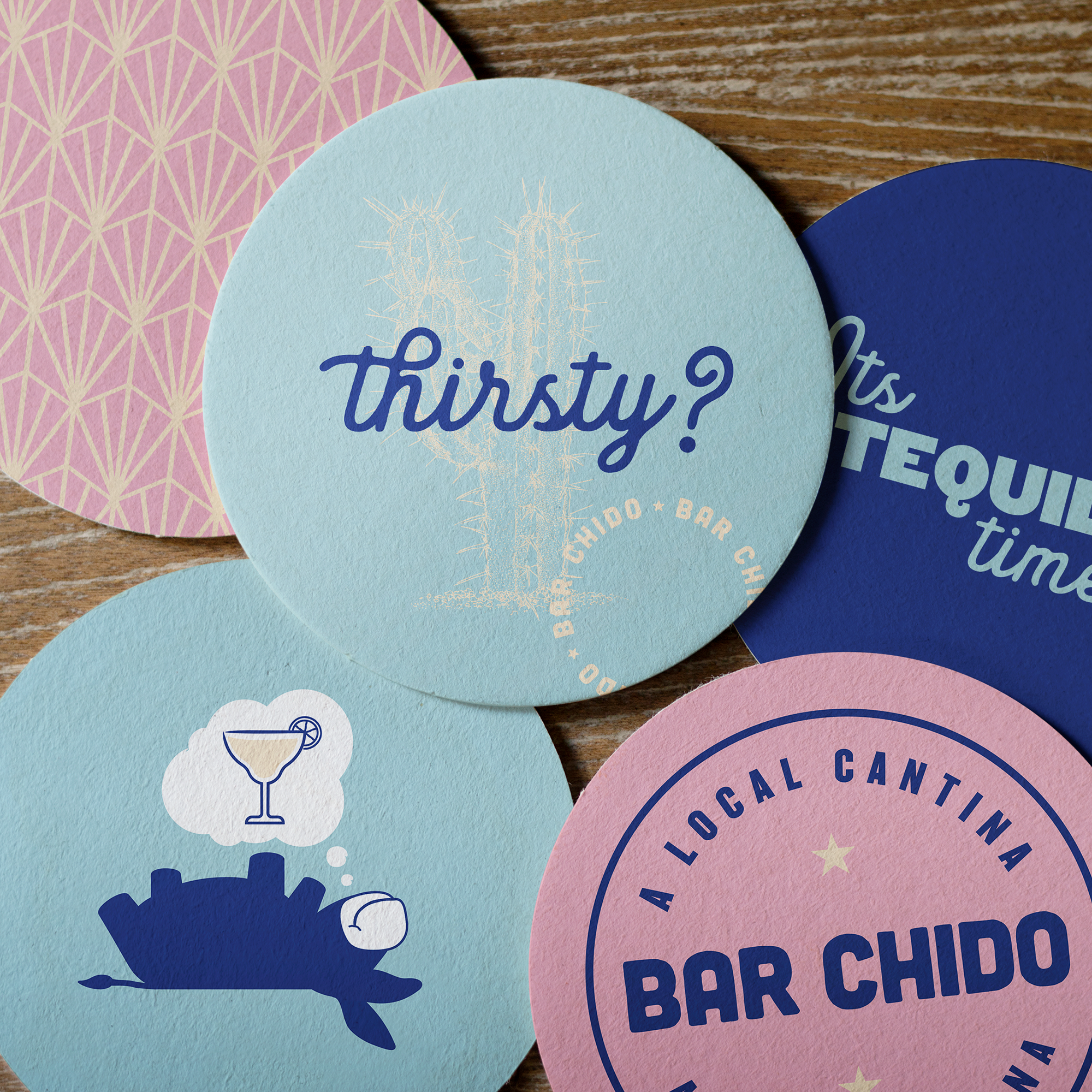 Bar Chido Mexican restaurant rebranding by EightySeven