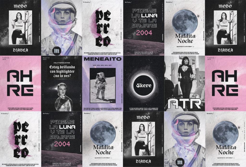 Mala bar branding and design Estudio Nuar