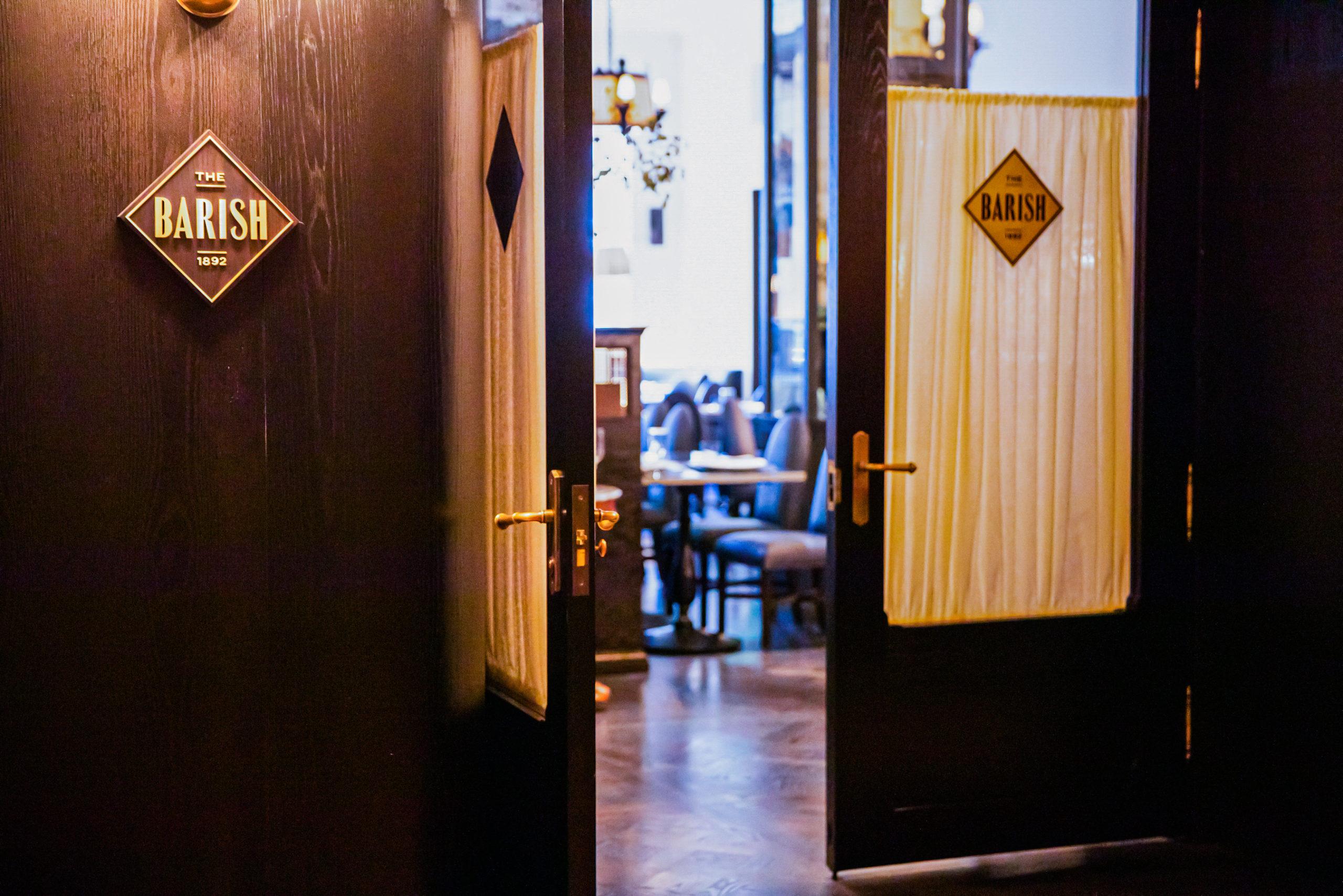 The Barish restaurant branding by Memo