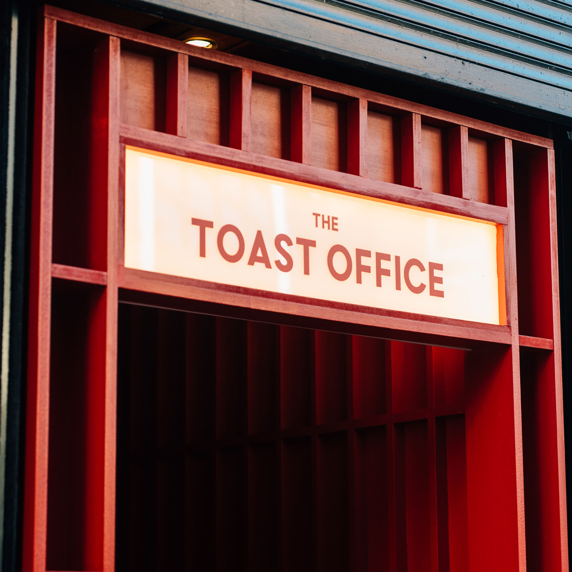 The Toast Office - restaurant branding by Crown Creative
